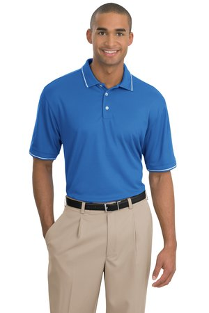 Nike golf men 39 s dri fit classic tipped polo 319966 for Mens dri fit polo shirts wholesale