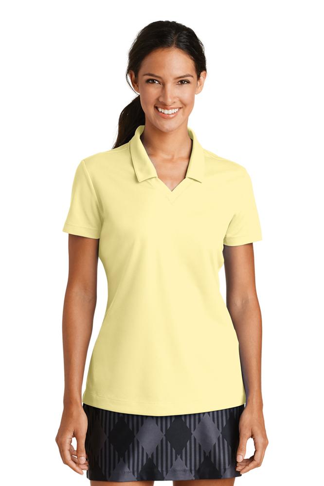 Ladies custom logo nike polo dri fit micro pique 354067 for Women s dri fit polo shirts wholesale