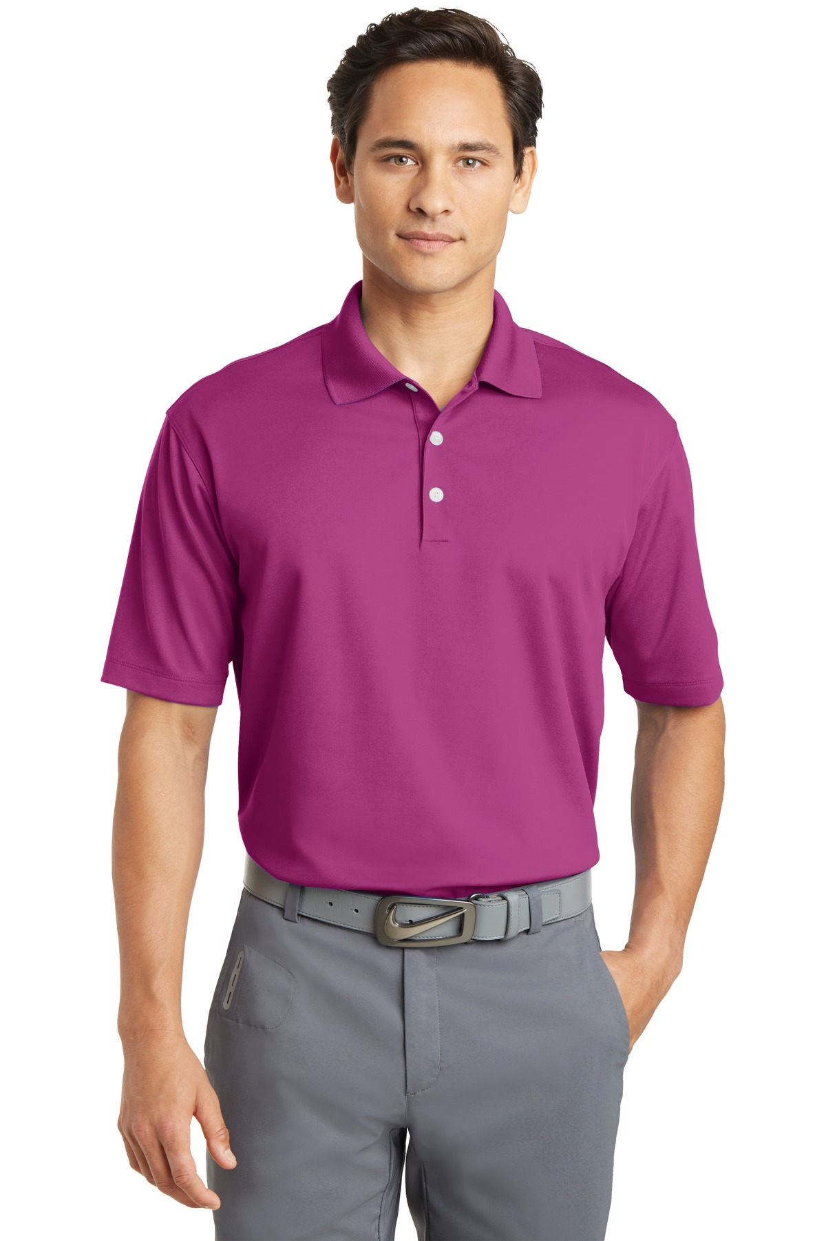 e10697a6 Custom Logo Nike Polo. Dri-FIT 363807-Logo Shirts Direct