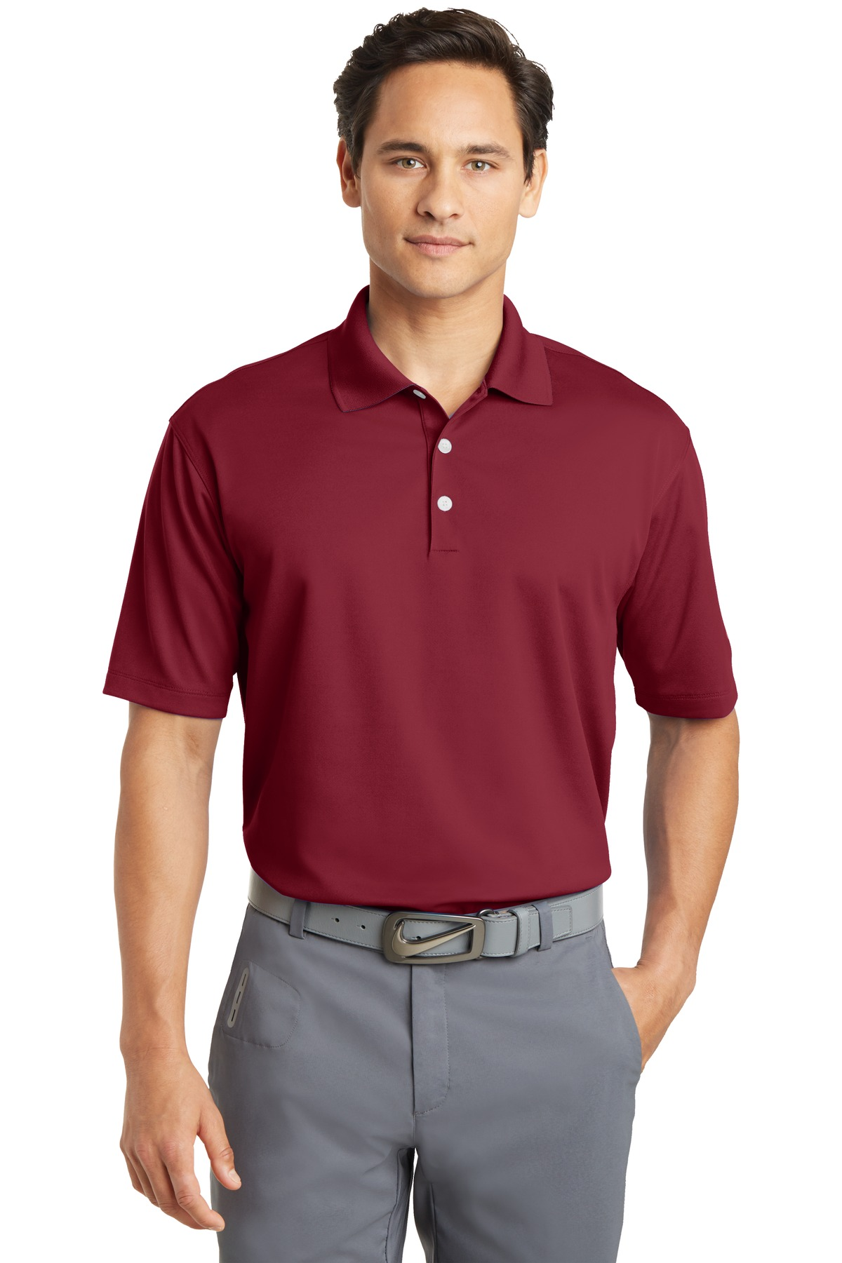 Custom Embroidered Mens Apparel Logo Shirts Direct