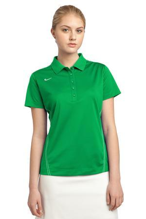 Nike golf women 39 s dri fit sport swoosh pique polo 452885 for Women s dri fit golf shirts