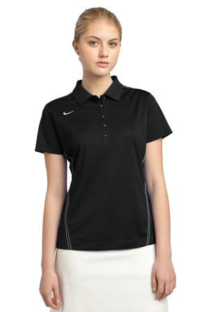 Nike golf women 39 s dri fit sport swoosh pique polo 452885 for Name brand golf shirts direct