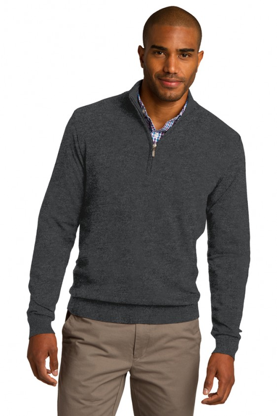 Port Authority Charcoal Heather