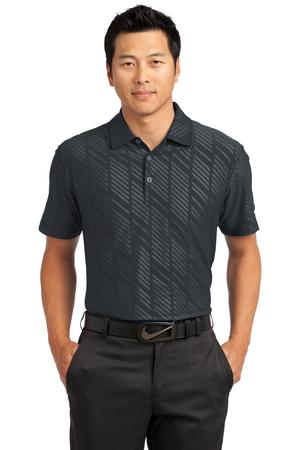 Nike golf men 39 s dri fit embossed polo 632412 for Mens dri fit polo shirts wholesale