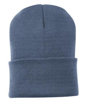 2732f09b756 Port   Company Knit Cap. CP90. Port Authority Millenium Blue ...