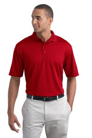 Port authority men 39 s poly charcoal blend pique polo k497 for Name brand golf shirts direct