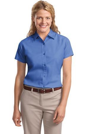 36240c05 Port Authority Women's Short Sleeve Easy Care Shirt. L508. Port Authority  Ultra Marine; Port ...