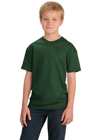 Port /& Company Youth Essential T-Shirt Navy PC61Y