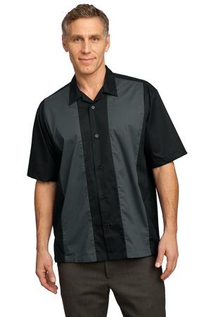 010bc8239a49 Port Authority Men s Retro Camp Shirt. S300.