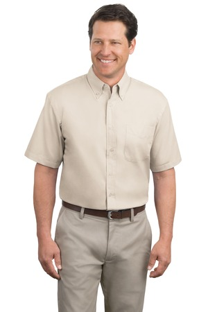 TLS508 Port Authority Tall Short Sleeve Easy Care Shirt