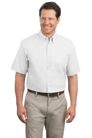 Port Authority Men's Tall Short Sleeve Easy Care Shirt. TLS508.