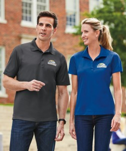 Tall Logo Sport Polo