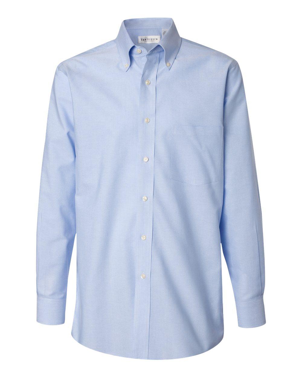 Van heusen men 39 s pinpoint oxford shirt 13v0067 for Van heusen dress shirts