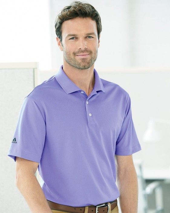 a2af5e3f Adidas A130 - Polo Golf Shirt for Men | Custom Logo Golf Shirt
