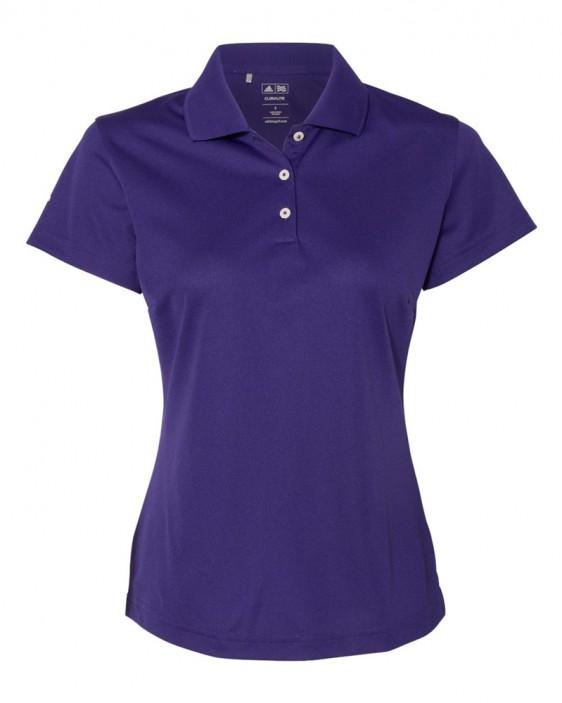 ba41d851dfef Adidas Golf Women's ClimaLite Basic Polo. A131.