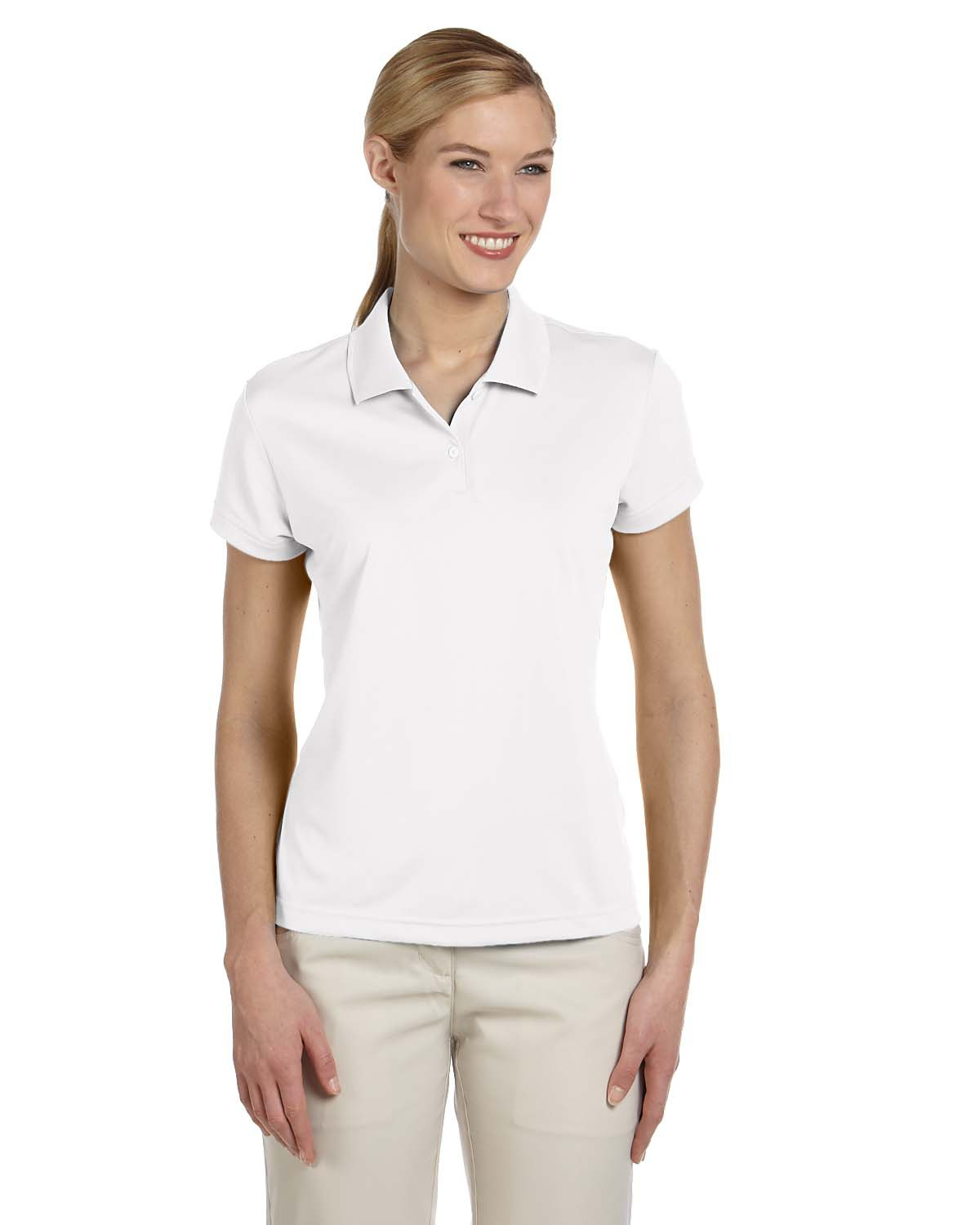 Adidas Golf Womens Climalite Pique Polo A122