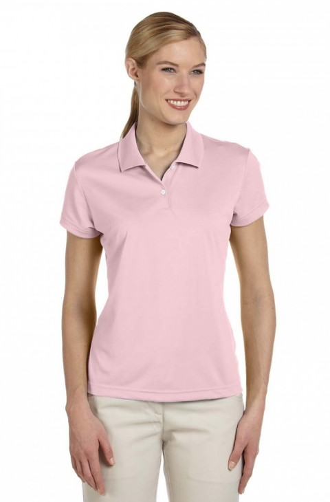 Adidas Ladies Polo-Sugar Pink