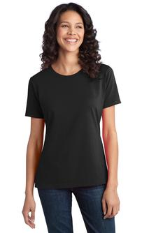 Port company women 39 s ring spun cotton tee lpc150 for Women s company logo shirts