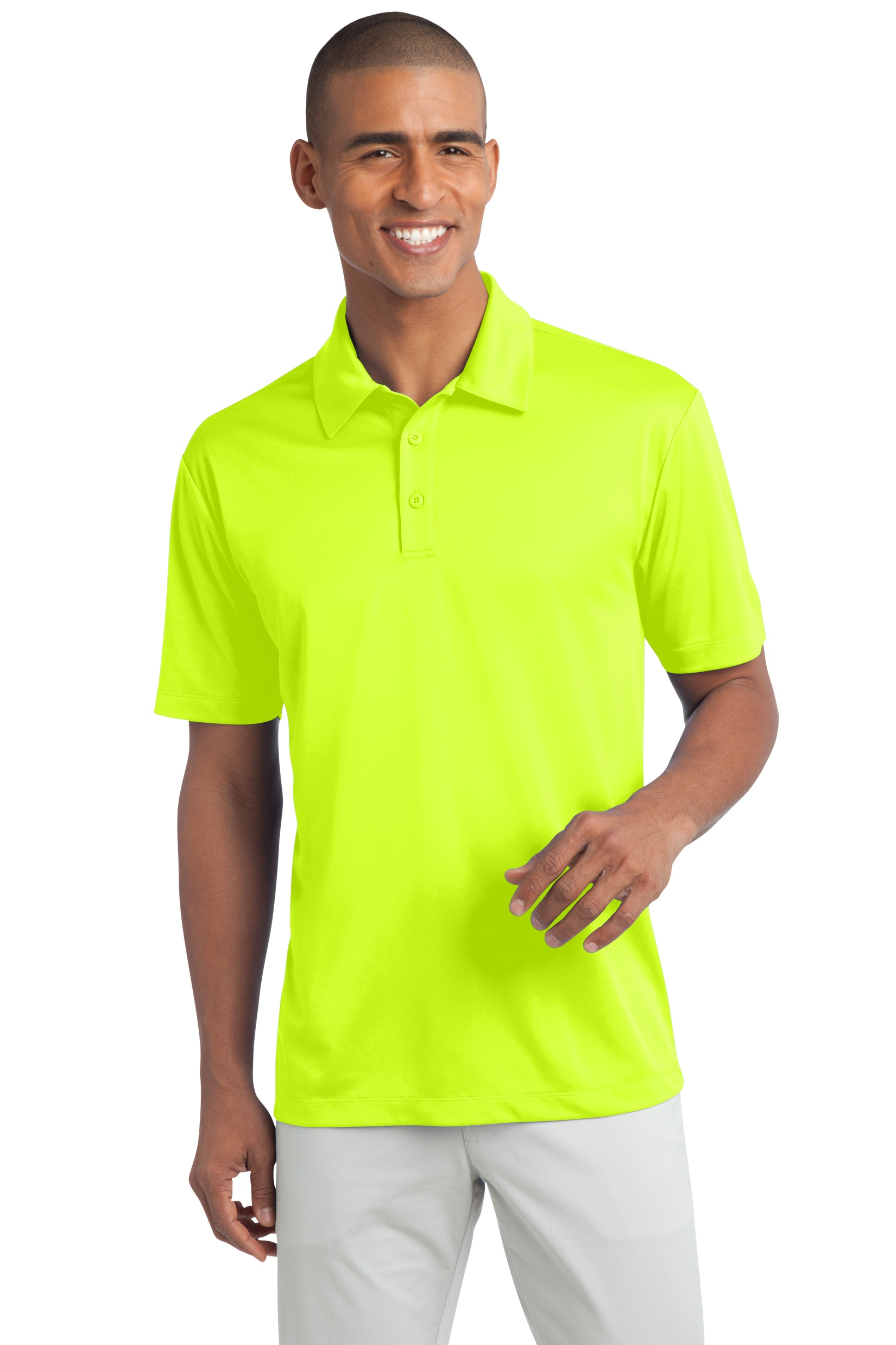 Port Authority Men's Tall Silk Touch Performance Polo. TLK540.