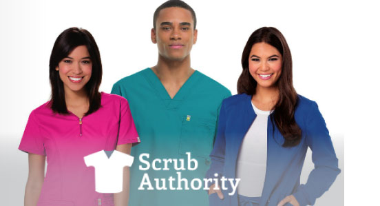 Custom logo apparel - Scrub Authority