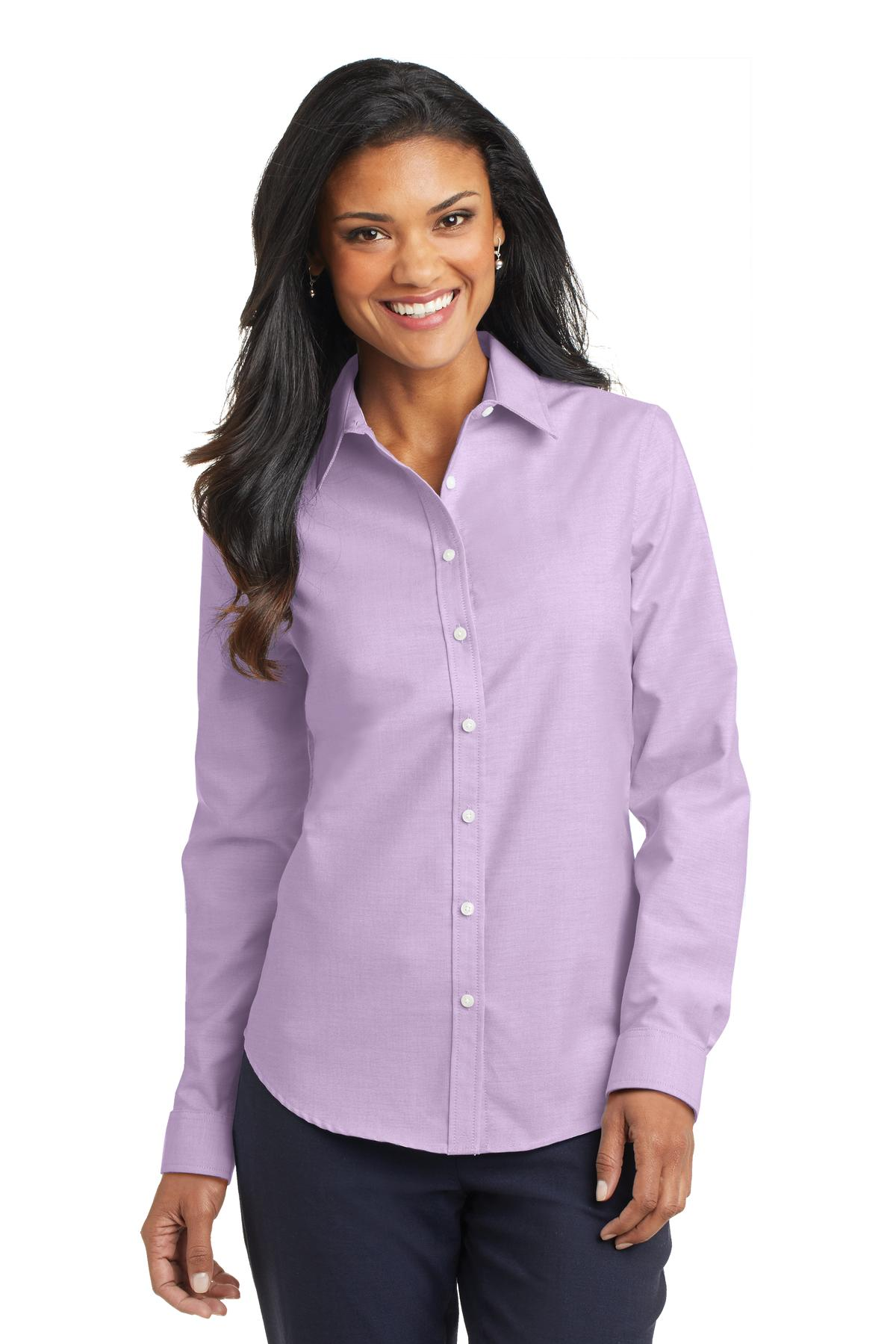 Port Authority Womens Superpro Oxford Shirt L658