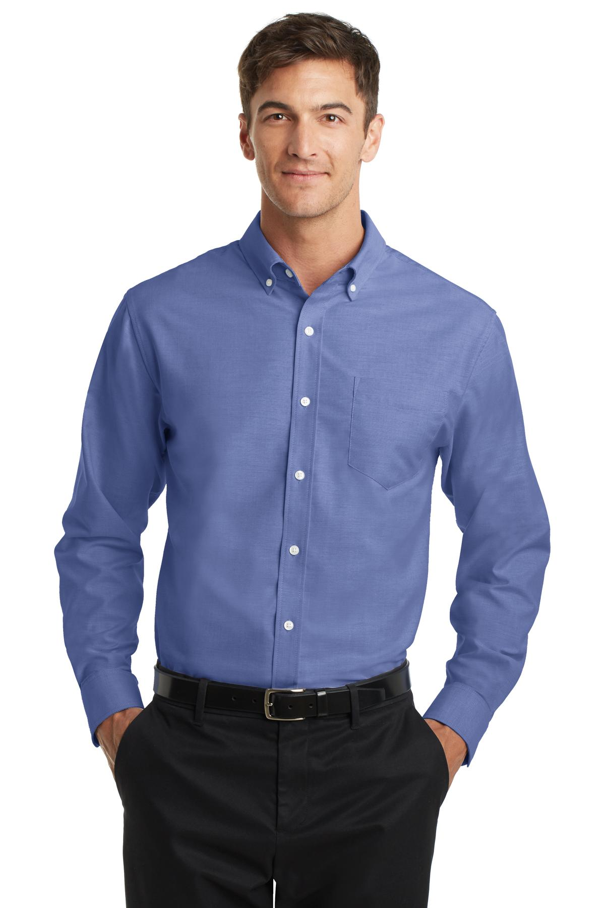 The Oxford shirt is an easy and comfortable solution when more effort than a tee and jeans are required. Here are some of our favorites. The Men's Oxford Shirts Every Guy Should Have in His Closet. The shirt that makes you look like a total boss! By Adam Mansuroglu. Best Mens T-Shirts That Are Another Wardrobe Staple.