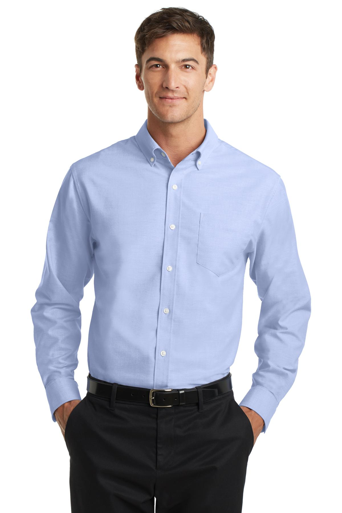 Port Authority Men S Superpro Oxford Shirt S658