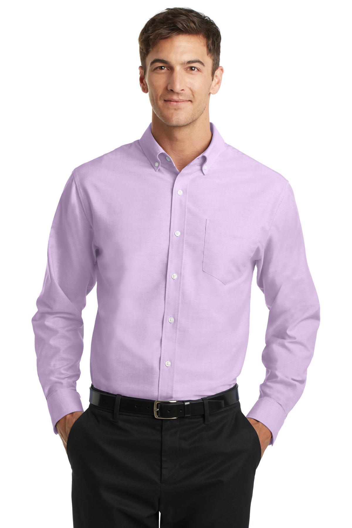 Port Authority Men's SuperPro Oxford Shirt. S658.