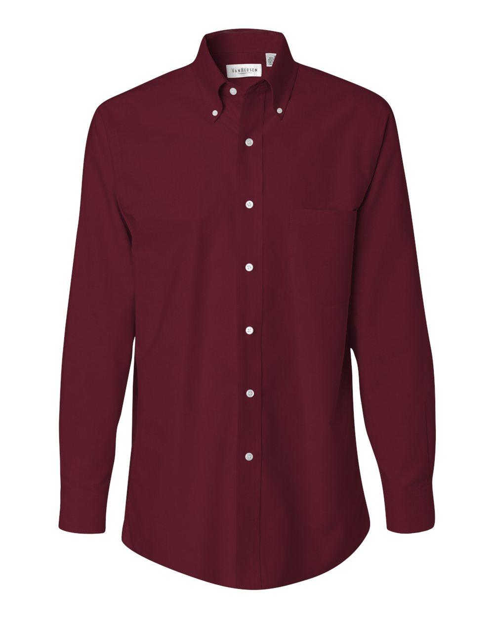 Van Heusen Men 39 S Long Sleeve Oxford Shirt 13v0040