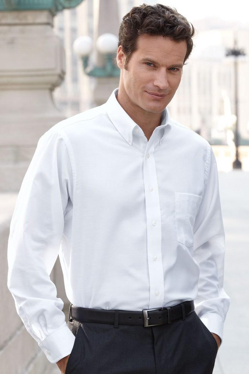 Van Heusen Mens Long Sleeve Oxford Shirt 13v0040