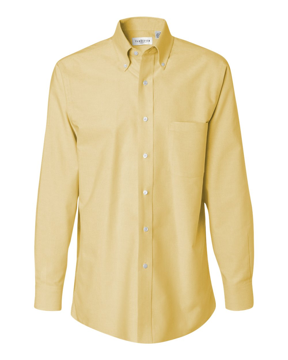 Van Heusen Men's Long Sleeve Oxford Shirt. 13V0040.