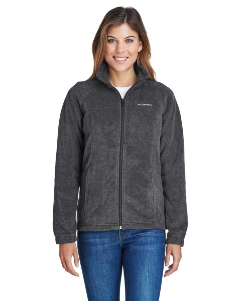 Ladies-Columbia-Fleece-6439-Charcoal