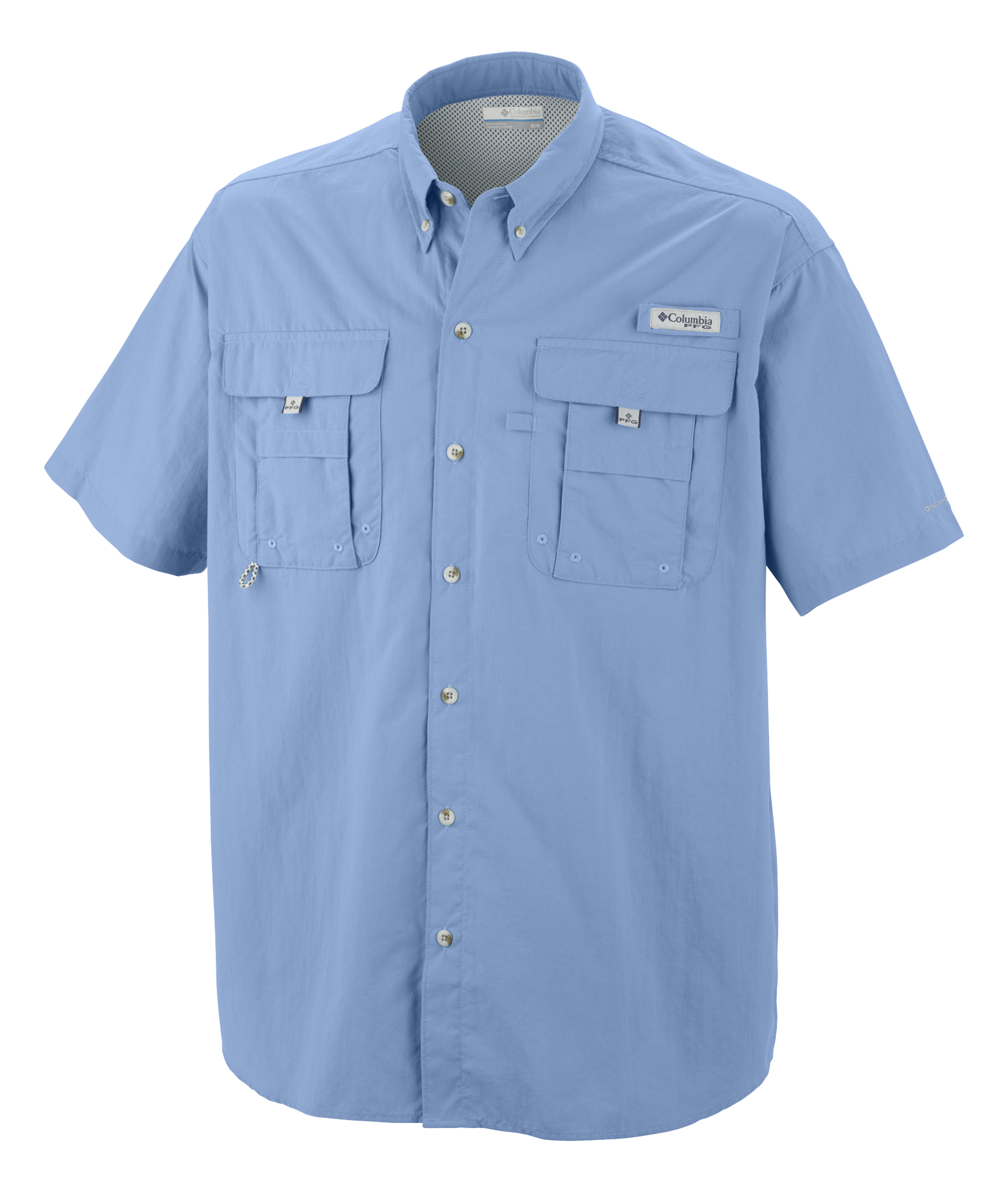 Columbia men 39 s bahama ii short sleeve shirt 7047 for Embroidered columbia fishing shirts