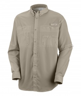 Port authority men 39 s easy care camp shirt s535 for Embroidered columbia fishing shirts