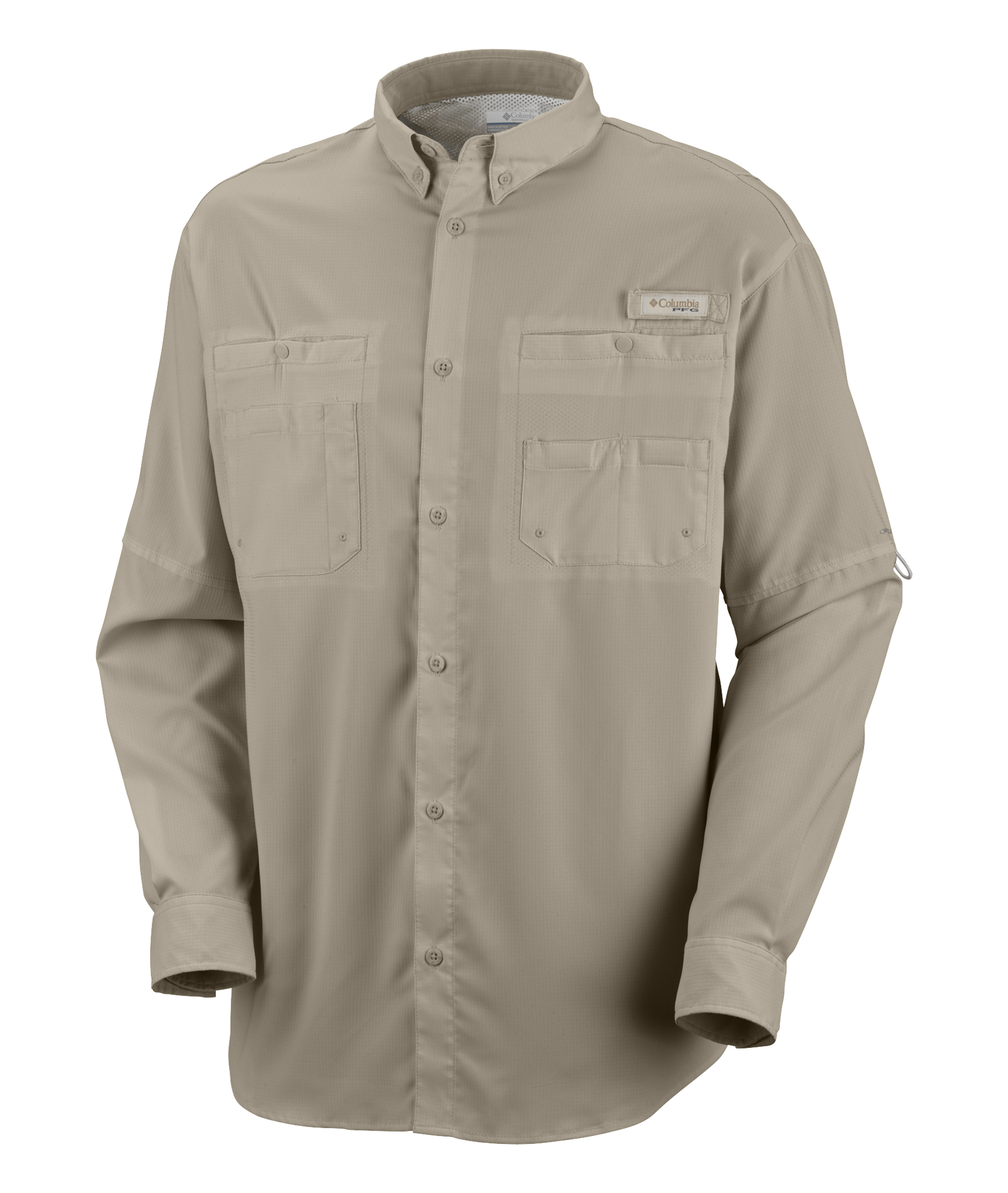 Columbia men 39 s tamiami ii long sleeve fishing shirt 7253 for Embroidered columbia fishing shirts