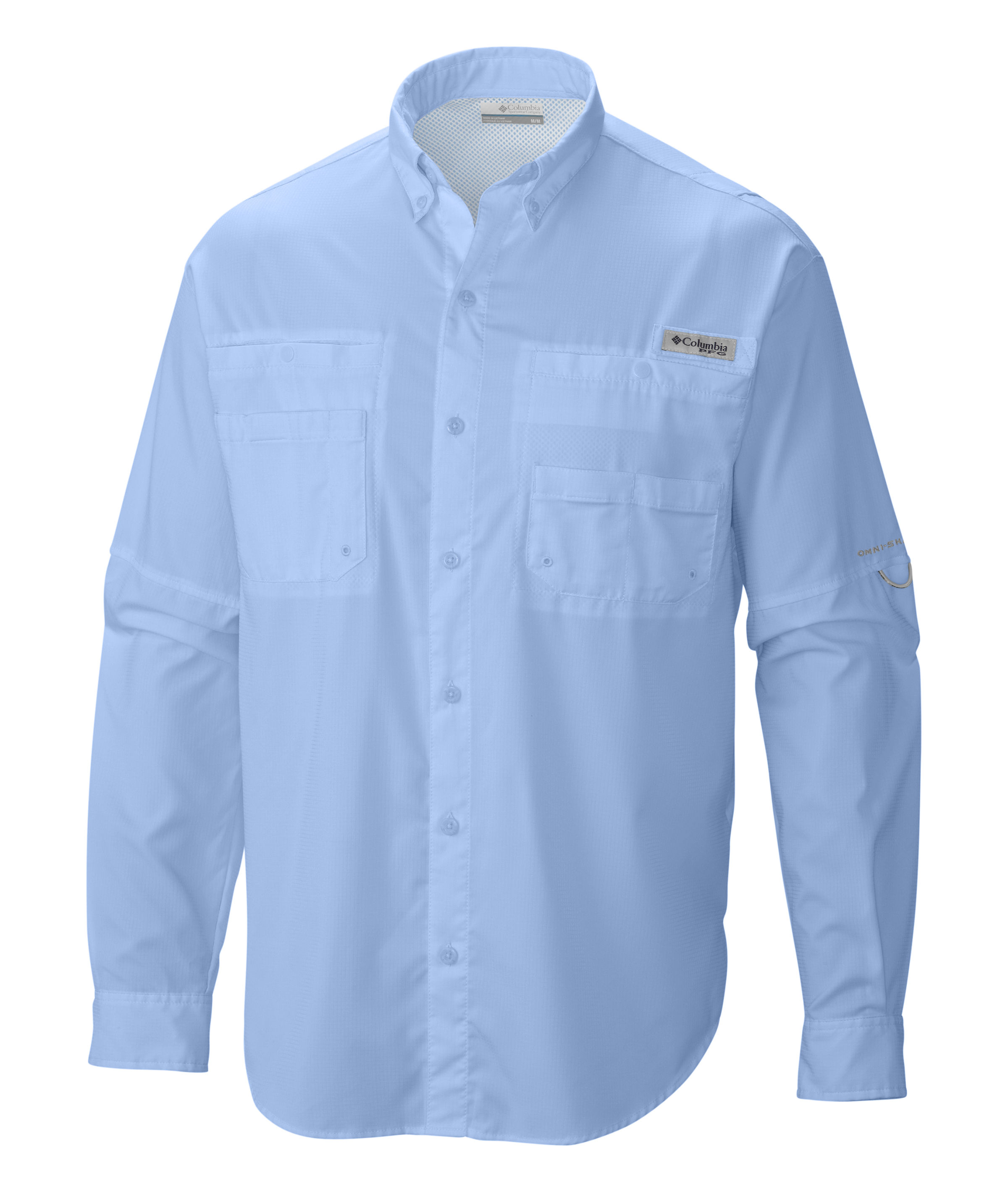 Columbia men 39 s tamiami ii long sleeve fishing shirt 7253 for Mens fishing shirts