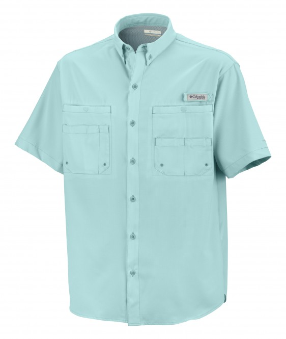 Columbia men 39 s tamiami ii short sleeve fishing shirt 7266 for Custom embroidered columbia fishing shirts