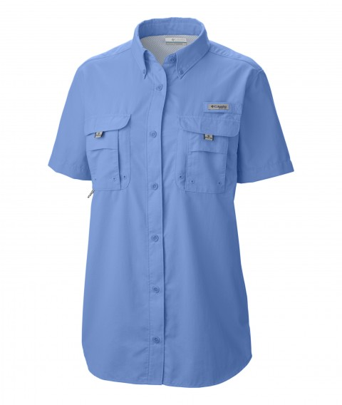 Columbia Ladies Fishing Shirt-7313_01_White Cap Blue