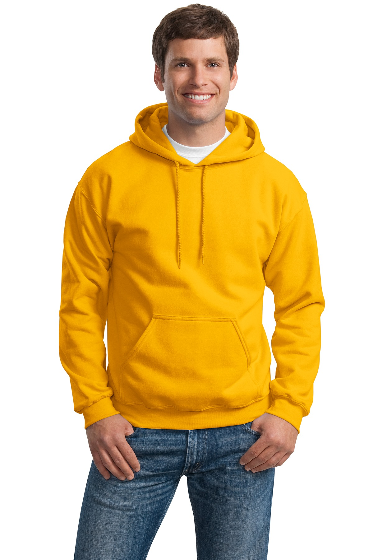 Gildan Men's Heavy Blend Hooded Sweatshirt. 18500. ba029149f8