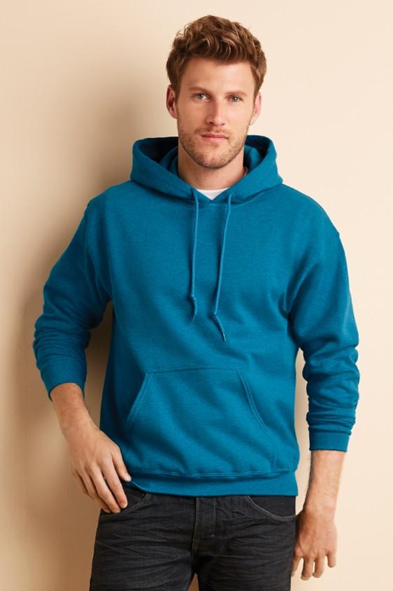 f837c356d8b Gildan Men s Heavy Blend Hooded Sweatshirt. 18500. Gildan Antique Sapphire  ...