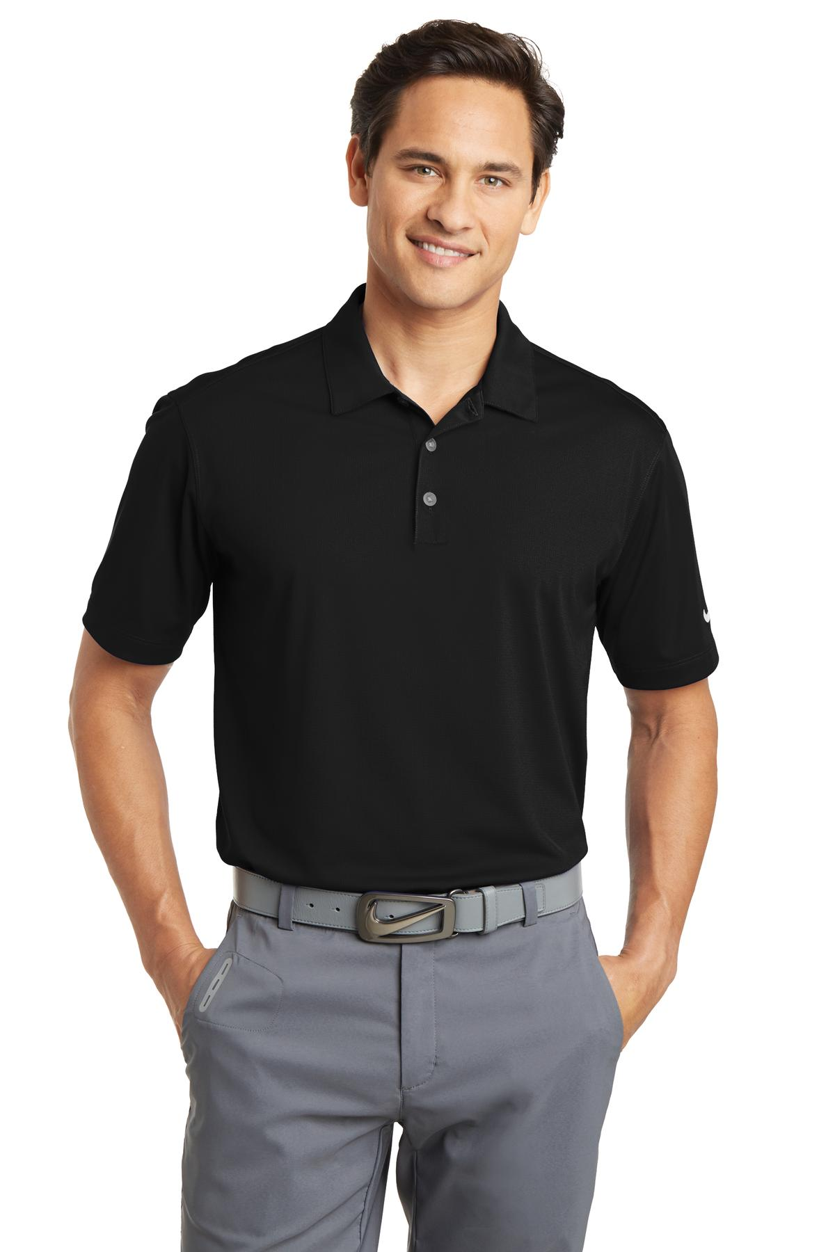 Nike golf dri fit vertical mesh polo 637167 for Mens xs golf shirts
