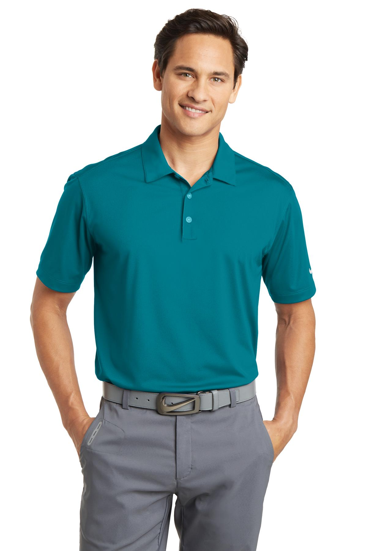 Nike Golf Dri Fit Vertical Mesh Polo 637167