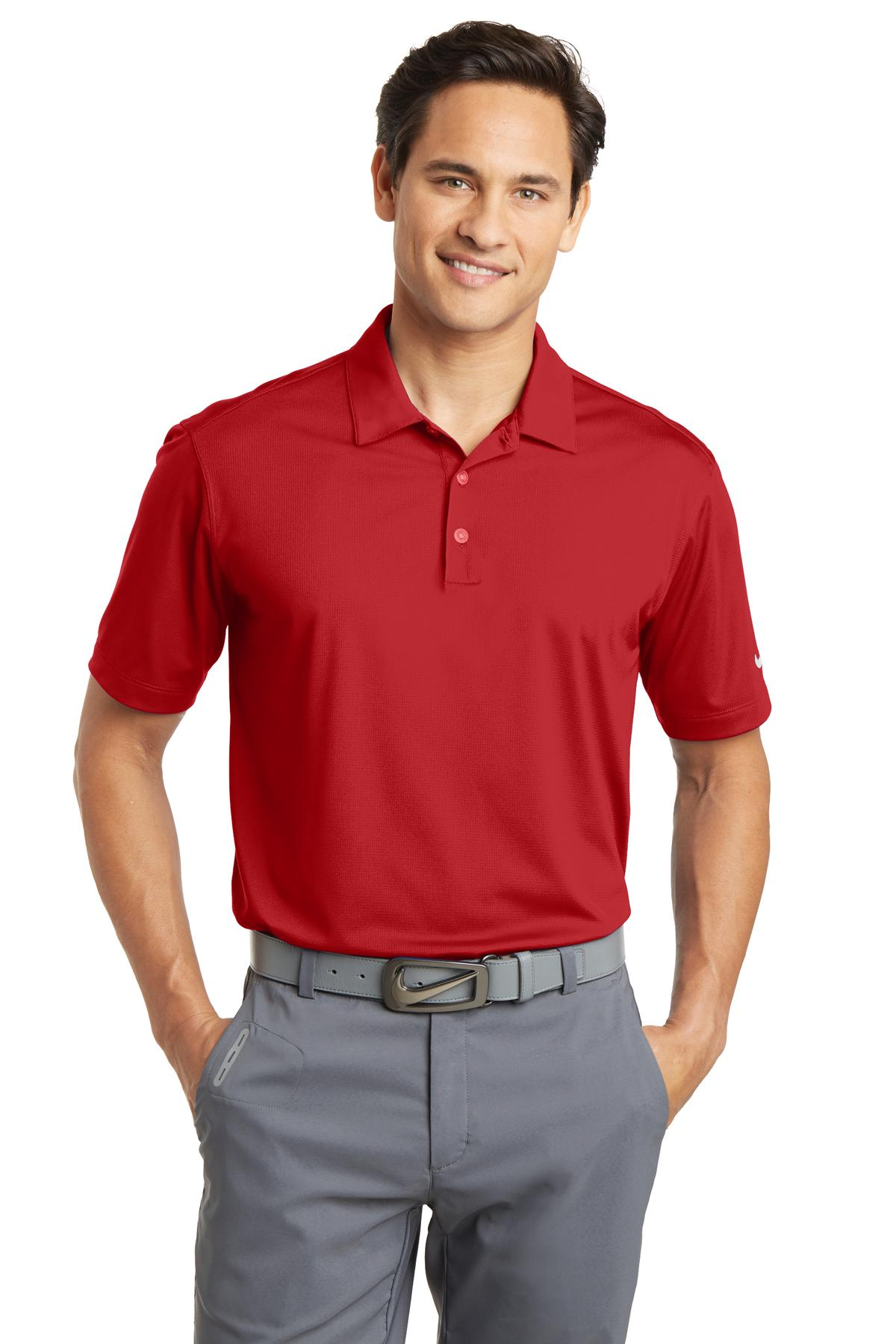 Nike golf dri fit vertical mesh polo 637167 for Nike golf polo shirts wholesale
