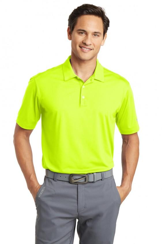 Nike 637167 | Custom Nike Golf Dri-FIT Vertical Mesh Polo