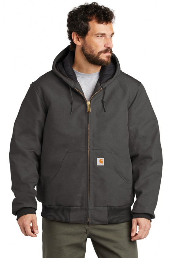 Carhartt Mens Quilted Flannel Lined Duck Active Jac