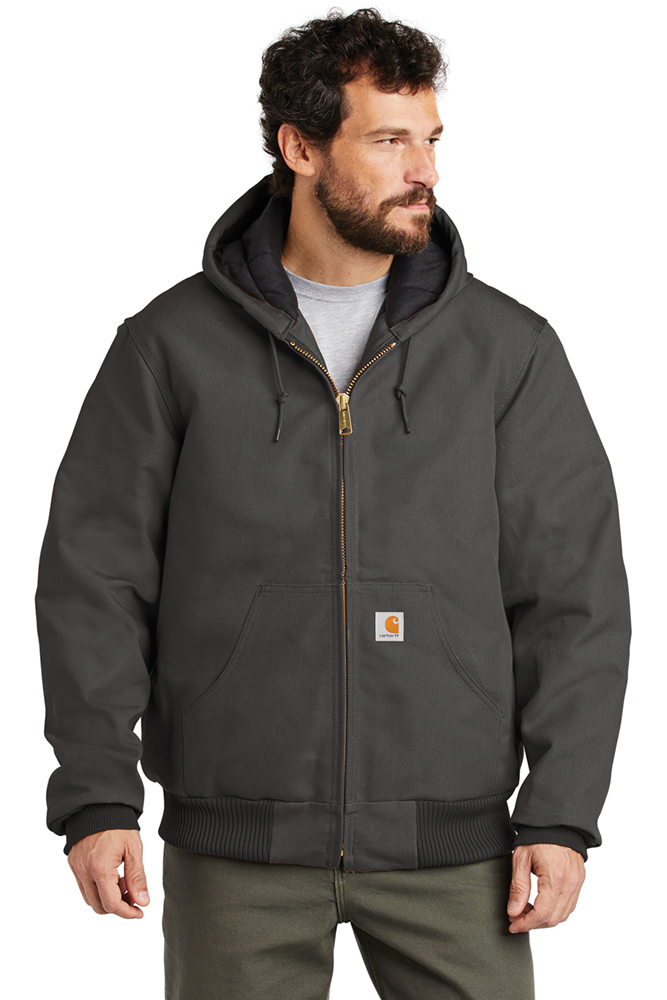 Carhartt Men S Quilted Flannel Lined Duck Active Jacket Ctsj140