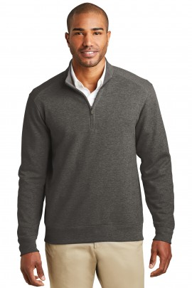 Port Authority Charcoal Heather/Medium Grey Heather