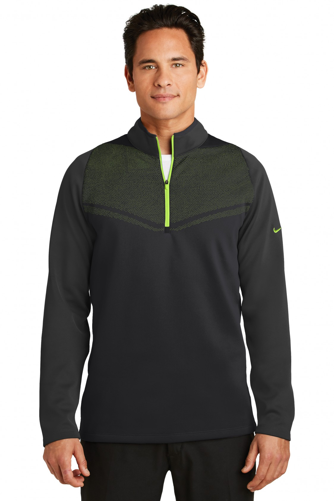 Nike Black/Chartreuse