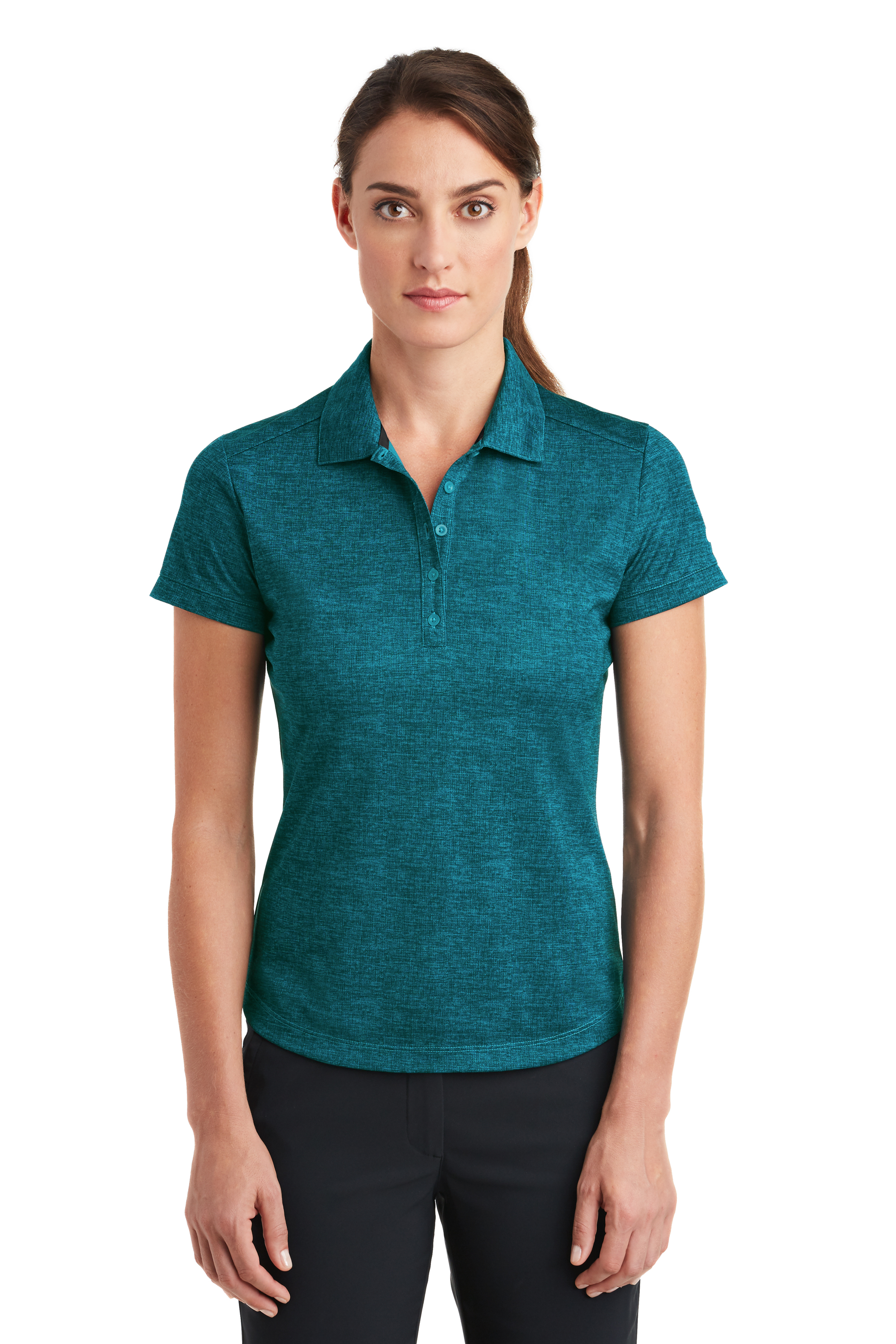 d6f5dff1db206 Nike Golf Women's Dri-FIT Crosshatch Polo. 838961.