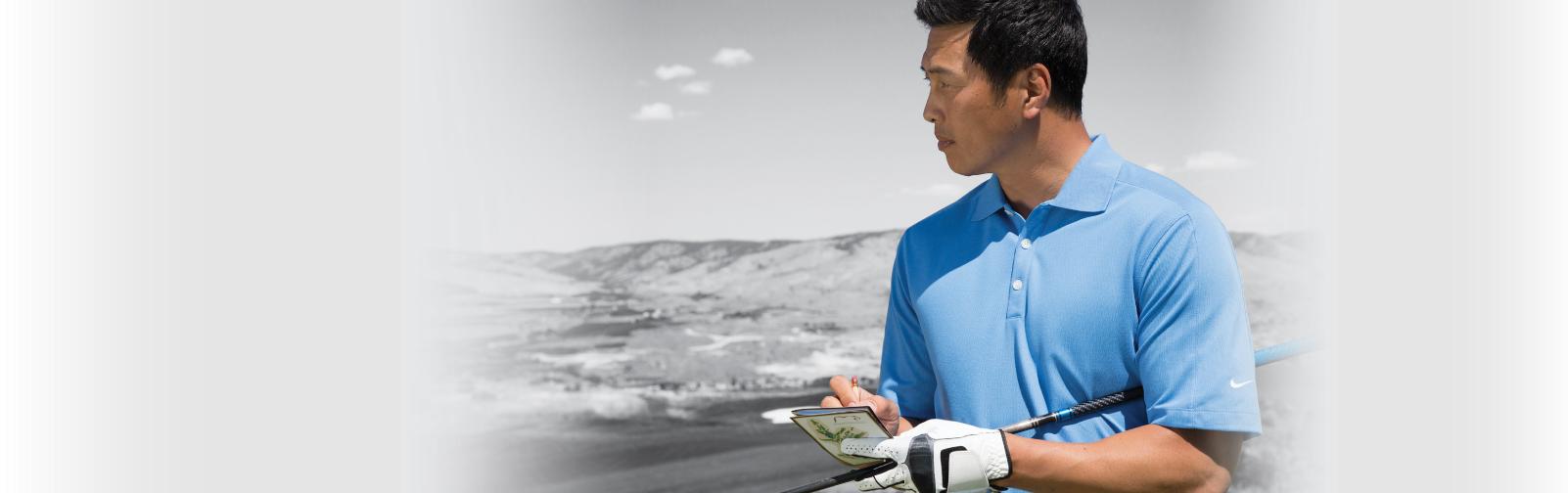 Background Image - Golfer